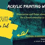 Aprajita Lal - Acrylic Painting workshops