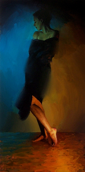 Equipoise by David Cheifetz Oil ~ 36 x 18