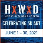 Bastien Martel - H x W x D � Celebrating 3D Art. (ONLINE)