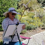 """Melody Greenlief - 2021 Plein Air Quick Draw Competition """"Art At The Amp"""""""