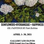 Gallery Los Olivos online - Sunflowers+Hydrangeas = Happiness