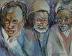 three wise men by Carolyn Rondthaler