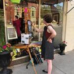 Jennifer Shuey - Painting Demo at Art a la Carte