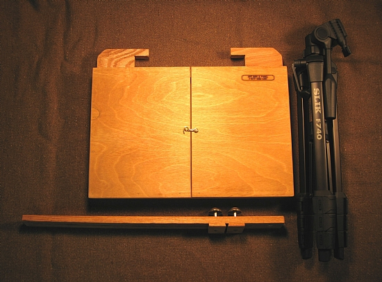 Compact Plein Air/Travel System by Art Box and Panel  ~  x