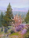 Walker Mountain by Janis Ellison Pastel ~ 14 x 11