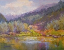 River Spirit by Janis Ellison Pastel ~ 11 x 14