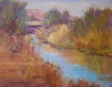 Desert Light by Janis Ellison Pastel ~ 11 x 14