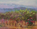 Troon Vines by Janis Ellison Pastel ~ 11 x 14