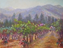 Applegate Afternoon by Janis Ellison Pastel ~ 14 x 1