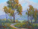 California Gold by Janis Ellison Pastel ~ 11 x 14