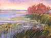 "Shelburne Bay Color by Elizabeth Allen Oil ~ 12"" x 16"""