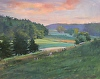 "Dawn at Shelburne Farms by Elizabeth Allen Oil ~ 24"" x 30"""