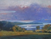"""Lake View from Shelburne Farms"" by Elizabeth Allen Oil ~ 28"" x 36"""