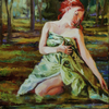 Woodland Bather