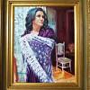 Portrait of Anna Framed DeborahWilcox