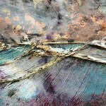 Heartful Artists Gallery - Embedding Objects on The Encaustic Edge - live stream at 2pm PST, with Melissa Stephens