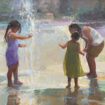 Sherri Kelcourse - American Impressionist Society's 21st Annual Juried Exhibition