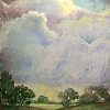 "Summer Squall by Nancy Park Oil ~ 20"" x 24"""