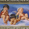 "Cherubs by Nancy Park Oil ~ 52"" x 18"""