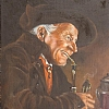 "Carl Kronberger Painting by Nancy Park Oil ~ 14"" x 11"""