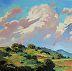 """CUMULUS by LYNNE FEARMAN Oil ~ 6"""" x 6"""""""