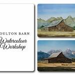 Danielle Beaulieu - Moulton Barn - Beyond Beginner Watercolour Workshop [ONLINE]