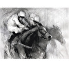 Racing Monochrome Limited Edition Print (Large)
