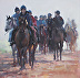 Mist Clearing-Warren Hill by Sally Martin