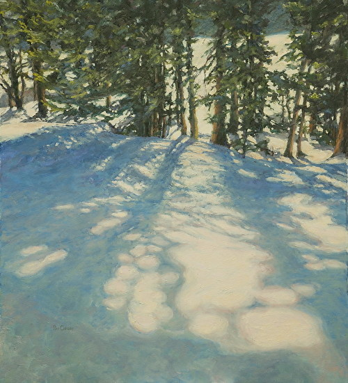 Winter Patterns - Oil