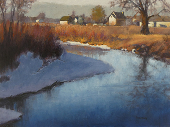 Evening Light - Oil