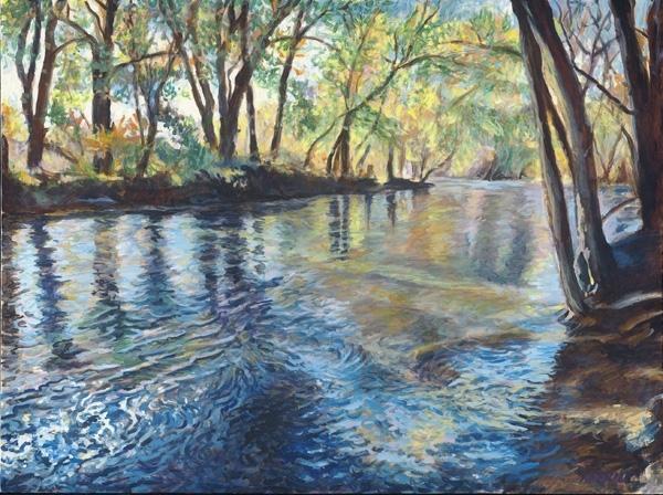 River Sanctuary - Oil