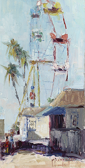 The Ferris Wheel - Oil