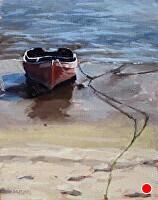 """low tide by Dan Graziano Oil ~ 14"""" x 11"""""""