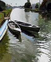 "Linnie Canal by Dan Graziano Oil ~ 24"" x 20"""
