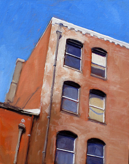 six windows - Oil