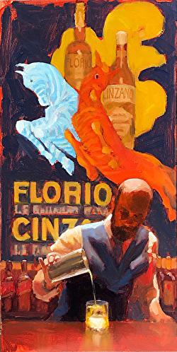 Dan Graziano - Jones & Terwilliger Gallery (Palm Desert) - Meet Dan Graziano and in-gallery painting demo